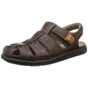 Clarks Men's Unwilmore Bay Brown Flip Flops Thong Sandals - 6 UK/India (39.5 EU)