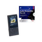2in1-Media-Player & Audio-Recorder mit Audio-Restaurations-Software | Mp3 Player