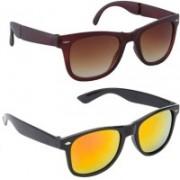 SRPM Round, Wayfarer Sunglasses(Yellow)