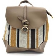 X Y SHOP Korean Style Bag For Women Backpack(Brown, 12 L)