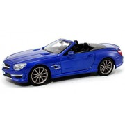 Maisto Mercedes-Benz SL63 AMG Convertible, Blue - 31503 1/24 Scale Diecast Model Toy Car