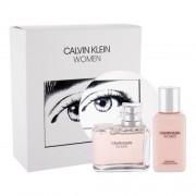 Calvin Klein Women zestaw Edp 100 ml + Mleczko do ciała 100 ml dla kobiet