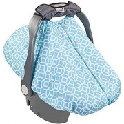 Summer Infant 2-in-1 Carry and Cover Infant Car Seat Cover Diamond Links