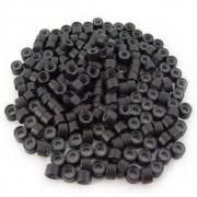 Inele Microrings Negre - 500 bucati