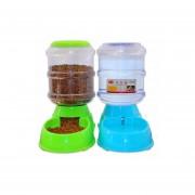 2 X Dispensador Automatico Alimento + Agua Mascotas