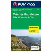 Kompass - Wiener Hausberge - Pielachtal - Traisental - Wandelkaarten 1. Auflage - Neuausgabe