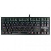 Клавиатура Gamdias HERMES-E2, гейминг, механична, подсветка, черна, USB