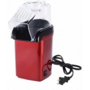 vellexstore Plastic Hot Air Popcorn Popping and Snack Maker electric 500 g Popcorn Maker(Red)