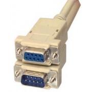 Cablu serial prelungitor D-SUB 9mama-9tata, 3m 1:1