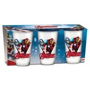 Avengers Assemble Avengers, porslinglas i 3-pack