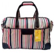 Must Visit Designer Travel Duffle Trolley Luggage Bag for Travelling Small Travel Bag - medium(Multicolor)