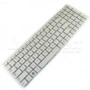 Tastatura Laptop Samsung NP300E5X alba + CADOU