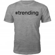 T-Junkie Camiseta #trending - Hombre - Gris - XXL - Gris