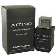 Salvatore Ferragamo Attimo Black Musk Eau De Toilette Spray 3.4 oz / 100.55 mL Men's Fragrances 536869