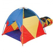 Pacific Play Tents Kids Find Me A La Mode Dome Tent & Crawl Tunnel Combo for Indoor / Outdoor Fun