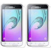 Samsung Galaxy J1 (2016) Tempered Glass Screen Guard By Deltakart