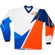 Jopa Core Camiseta MX/BMX Azul/Naranja 5XL