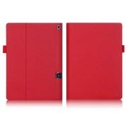 4kom.pl Etui skórzane Lenovo Yoga Tab 3 Pro X90 / Tab 3 Plus Czerwone