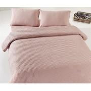 Cuvertură de pat dublu Valentini Bianco YT053 Caramel