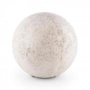 Gemstone L Candeeiro de Jardim Globo 33 x 31 cm Pedra Natural