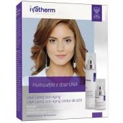 Crema antirid pentru piele sensibila 50ml + Crema antirid contur ochi 15ml, Ivatherm