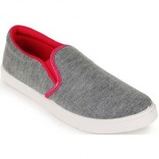 Clymb Pari Pink Grey Loafers For Women's In Various Sizes