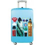 LOQI Pokrowiec na walizkę LOQI Hey London