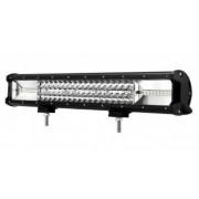 LED Bar Auto 270W leduri pe 3 randuri 12V-24V 18900 Lumeni 20/50 8 cm Combo Beam 12/60 Grade
