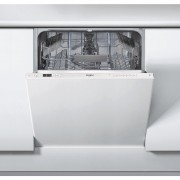 Masina de spalat vase Whirlpool WRIC 3C26, Total incorporabila, 14 seturi, 60 cm, 6 th Sense, 8 programe, Clasa A++, Panel comanda alb