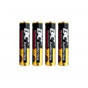 4 buc Baterii alcaline EXTRA POWER AAA 1,5V