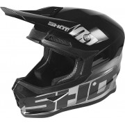 Shot Furious Brush Motocross Helmet Silver M