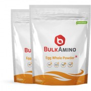 Advance Nutratech BulkAmino Egg Whole Powder 300gram(1.1lbs) Unflavoured(pack of 2) 600 grm