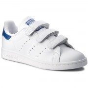 Обувки adidas - Stan Smith Cf S80042 Ftwwht/Ftwwht/Croyal