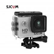 SJCAM SJ4000 acción 1080P Cámara deportes DV 2,0 pulgadas buceo 30M impermeable HD extremo al aire libre casco SJ 4000 Cam(#Plata)(#Option 7)