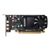 Placa video profesionala PNY NVIDIA Quadro P400, 2GB, GDDR5, 64-Bit, Low Profile
