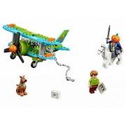 127 Pcs Scooby Doo Mystery Plane Adventures Plane Kits Figures Building Block