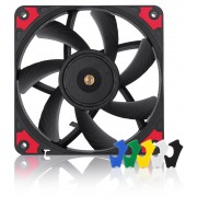 FAN, Noctua 120mm, NF-A12x15 PWM chromax.black.swap, 120x120x15mm