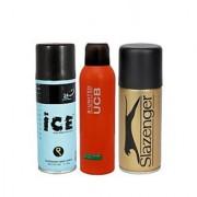 Ice + Benetton + Slazenger Deodrants