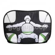 Alcoa Prime Portable Football Target Training Boys Girls Practice Soccer Goal Toy Green
