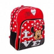 Disney Minnie love - zaino scuola con personaggio 42cm