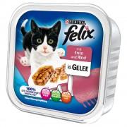 Felix bocaditos en gelatina 32 x 100 g - Venado y ave