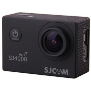 Camera video de Actiune SJCAM SJ4000WIFI-BK, Filmare Full HD, 12 MP, Wi-Fi (Neagra) + Cartela SIM Orange PrePay, 6 euro credit, 4 GB internet 4G, 2,000 minute nationale si internationale fix sau SMS nationale din care 300 minute/SMS internationale mobil U