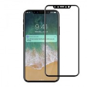 Wondrous(TM) Edge to Edge Tempered Glass (Curved Arc Edges 9H Hardness) for Iphone XS