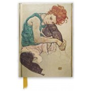 Egon Schiele: Seated Woman (Foiled Journal), Hardcover