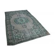 Rozenkelim Vintage vloerkleed groen, 278cm x 181cm, nr7225