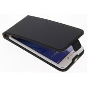 Luxe Hardcase Flipcase voor Huawei P8 Lite (2017) - Zwart