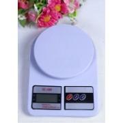 Manogyam Digital 10kg x 1g Kitchen Scale SF_400 Balance Multi-purpose weight measuring machine Weighing Scale(OFF WHITE 1)