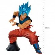 Action Figure Dragon Ball Super Goku Super Sayajin Blue Maximatic 20721/20722