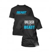 Tricou Unleash The Beast Beast Sport Nutrition Negru