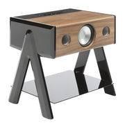 La Boîte Concept Enceinte Bluetooth Cube / Thruster 2.1 - La Boîte Concept noir,noyer en bois